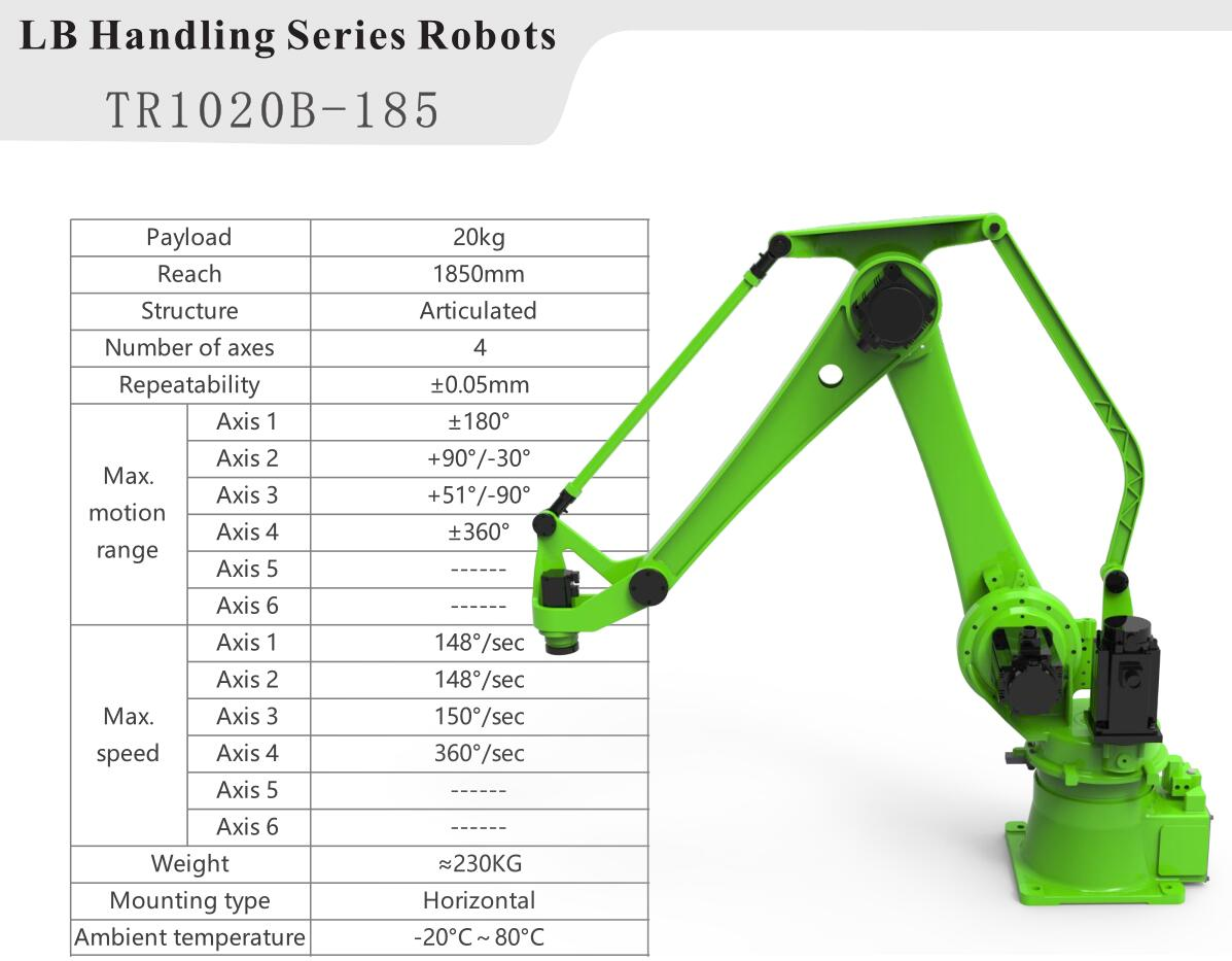 4 Axis Industrial Robot