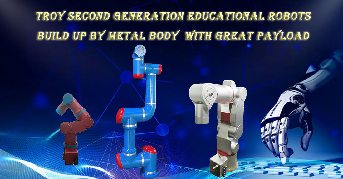 Educational Robot with more than 2kg payload
